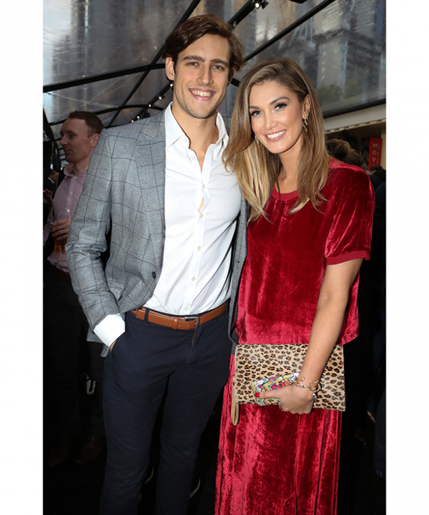 Zac Stenmark and Delta Goodrem
