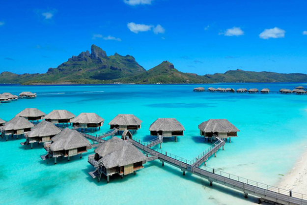 "Fave holiday destination? ""Best place I've ever been to is Bora Bora. Hands down. Amazing."""