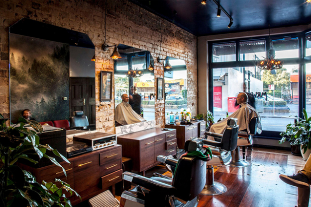 Mr Wolf Barbershop - Located on Enmore Road in Newtown, Mr Wolf draws reference to the 1930's Barbershops of America. A signature navy blue ceiling, custom joinery and authentic barbershop chairs from USA all compliment the original feature flooring - made up of various Australian timber species. The best part: haircuts for $35 a pop include a complimentary beer. 22 Enmore Rd, Newtown  www.facebook.com/mrwolfnewtown/