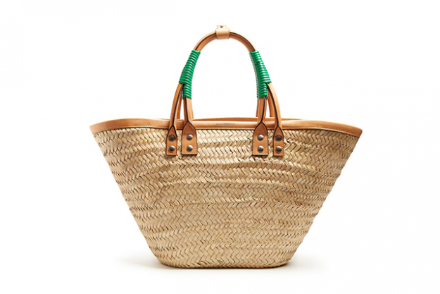 "Balenciaga raffia tote, $1,735, matchesfashion.com/au<p><a style=""font-size: 17px;"" href=""http://www.matchesfashion.com/au/products/1079817"">matchesfashion.com/au</a></p>