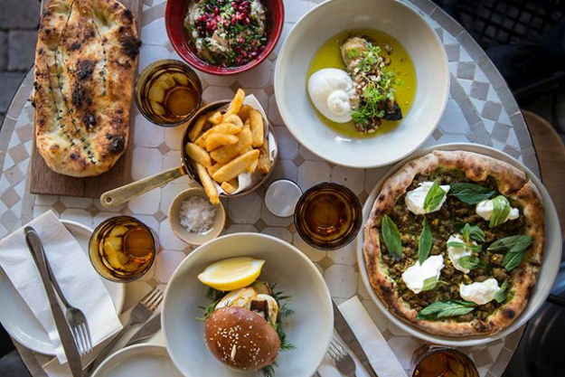 2.         Restaurant: Kepos &  Co. I love Middle Eastern food!