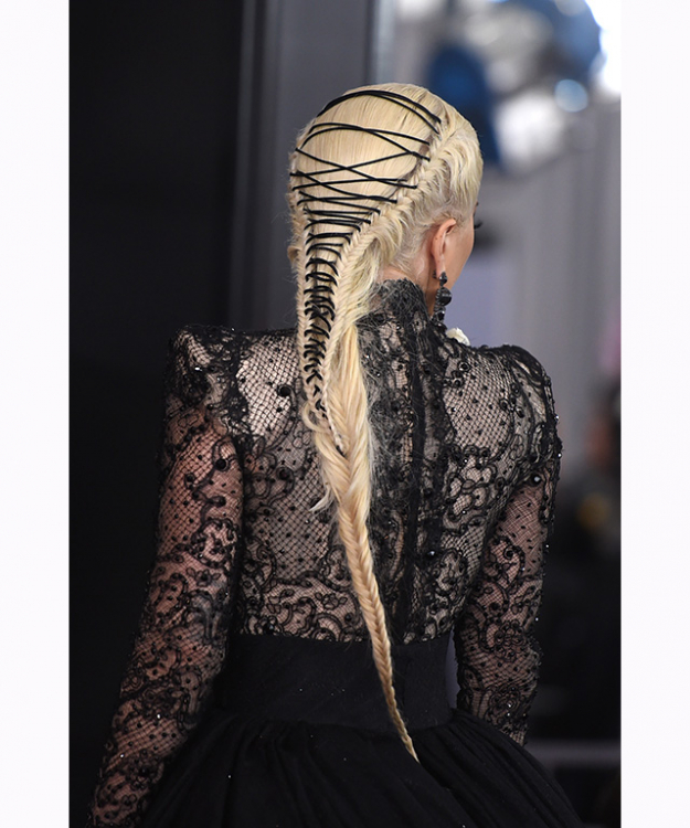 … And shoestring fishtail braid