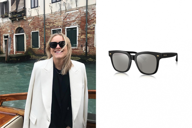 "Round: Characterised by soft features, round shaped faces are generally of equivalent height and width. Geometric frames offset the contour; try classic wayfarers and square/rectangular shapes that will elongate the appearance of your face.<p><span style=""font-size: 17px;"">Bolon Eyewear, Dandy in black, $200.&nbsp;</span></p>