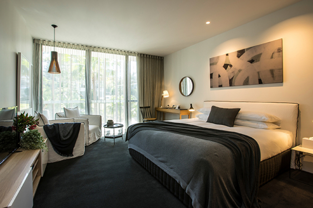 "Where: Mollymook on the NSW South Coast (a three-and-a-half hour drive from Sydney.) Rate:  from $315 per night. Book. ith Mr And Mrs Smith and score a bottle of sparkling wine – cheers.<p><a style=""font-size: 17px;"" href=""https://www.mrandmrssmith.com/luxury-hotels/bannisters-pavilion"" target=""_blank"">mrandmrssmith.com</a></p>"