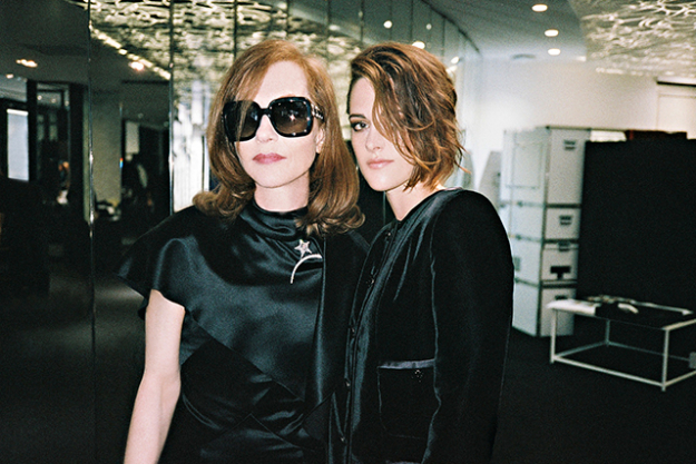 Isabelle Huppert and Kristen Stewart
