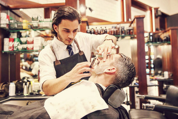 Barberhood - Paying homage to traditional barbering techniques, supreme customer service and luxury men's grooming products, this is the place to go if you want to step back in time and relax knowing you're in expert hands. Every haircut comes with a classic straight razor clean up on the side and back of the neck with a hot towel and cologne included. S3, Wintergarden, 1 O'Connell Street, Sydney. www.barberhood.com.au/