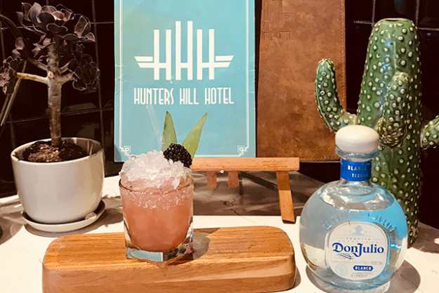 The Hunters Hill Hotel are offering a special Daisy Margarita. Why you ask?  The word for Margarita in Spanish is 'daisy'. Ole!
