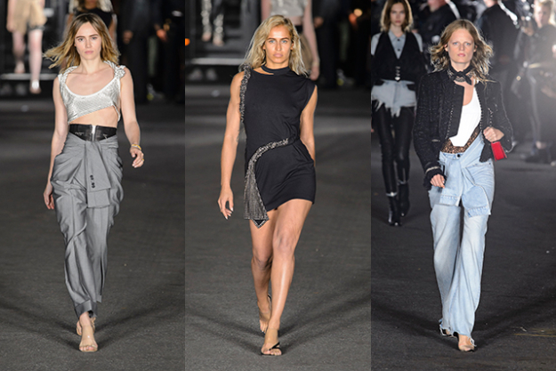 Models included Suki Waterhouse, Alice Dellal and Buro 24/7 cover girl Hanne Gaby Odiele.