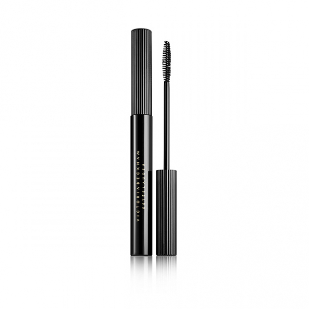 NEW Eye Ink Mascara in Blackest: Re-create Victoria's experience of getting her lashes painted on set with the Eye Ink Mascara. This dramatic smudge-resistant fiber formula gives extreme volume, lift and length, and 15 hour wear. The super skinny brush with short bristles is designed to reach every last lash. Warm water washable and lash extension friendly.