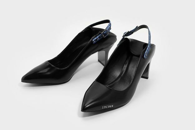 "6.	From the architectural heels, down to the pop of blue elastic, think of these as your-next-level black pumps, $59<p><a style=""font-size: 17px;"" target=""_blank"" href=""http://www.charleskeith.com/au/shoes/pointed-slingback-heels-black-ck1-60900076.html?utm_source=buro247&amp;utm_medium=referral&amp;utm_campaign=pointed_slingback_heels&amp;utm_content=061017_buro247edit_ecomm"">Pointed Slingback Heels</a></p>
