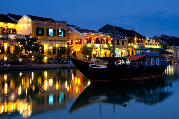 6.	Hoi An. With beaches, bespoke tailors and artisans in abundance, this quaint little Vietnamese town is a haven when you need a break from the traffic and noise of Ho Chi Minh and Hanoi. Boasting colonial architecture and banh mi on every street corner – you could get happily lost in the cobbled streets of the old town for days.
