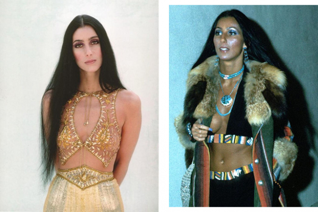 7. Style icon/muse: CHER! (in the 70s).
