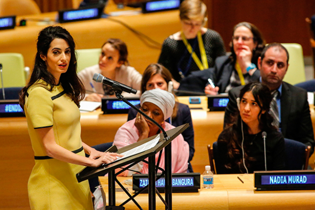 "8.	""I will not go to South Sudan anymore and in the Congo, Amal will no longer go to Iraq and she will avoid places where she knows she is not welcome,"" he added."