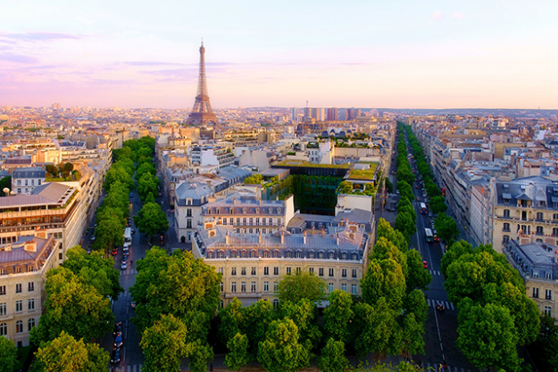 8.	Paris. Ah, the city of cafes, lovers and breathtaking architecture. Little wonder you could shop, eat and explore this city 24/7 – in between repeat visits to the French capital's incredible museums.