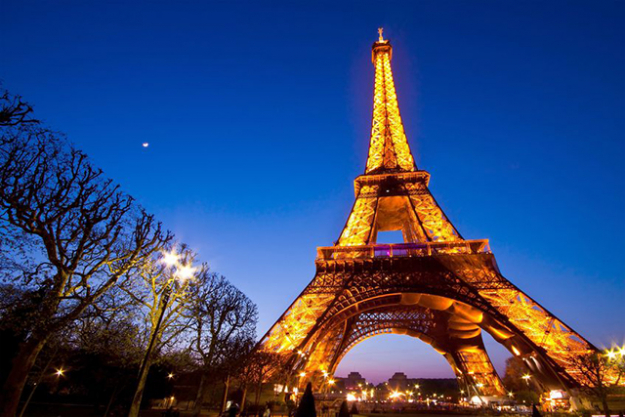 3.	Eiffel Tower, France. Despite ticking every cliché in the book, you can't really argue this entry can you?