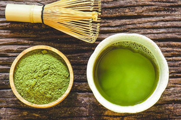 7. Matcha. The Japanese secret to great health is out! Just mix it in cold water and shake it. Don't add hot water otherwise many of the antioxidants will disappear.