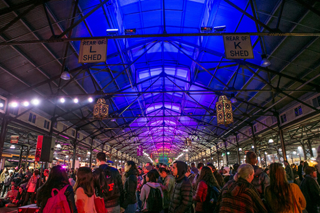 "Wednesday night shopping just got a whole lot cooler (or warmer) in Melbourne, as the annual Winter Night Market at Queen Victoria Markets returns. This year, it's even more festive with a series of light, smoke and laser installations beaming through the hall. Wednesday nights 5pm-10pm, June 7- August 30 http://thenightmarket.com.au/<p><a target=""_blank"" href=""http://thenightmarket.com.au/"">http://thenightmarket.com.au/</a></p>"