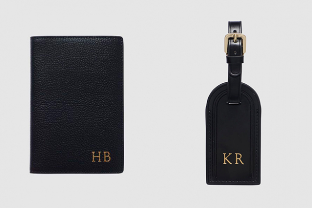 "A monogrammed leather passport holder from The Daily Edited is the thoughtful, gender-neutral way to impress your most worldly pal. Not sure if they've already got one? A personalised luggage tag is a safer option, but equally chic. Black Pebbled Passport Holder, $79.95 and Luggage Tag, $54.95 thedailyedited.com<p><a target=""_blank"" href=""https://www.thedailyedited.com/"">thedailyedited.com</a></p>"