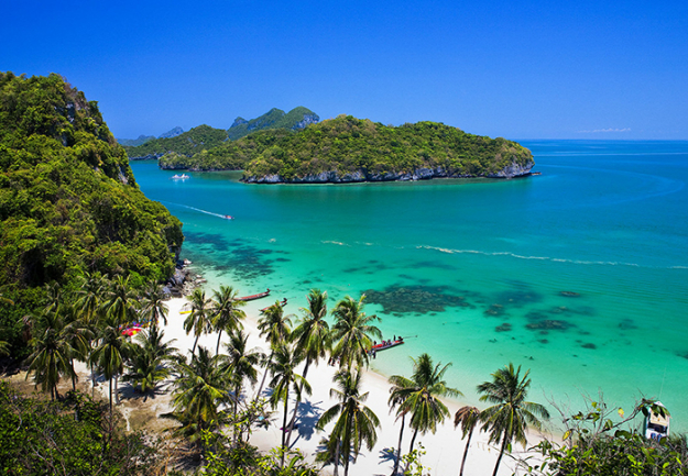 9.	Koh Samui. While Thailand in general  is hard to beat for a short getaway, the country's second largest island is luxury island holidaying personified.