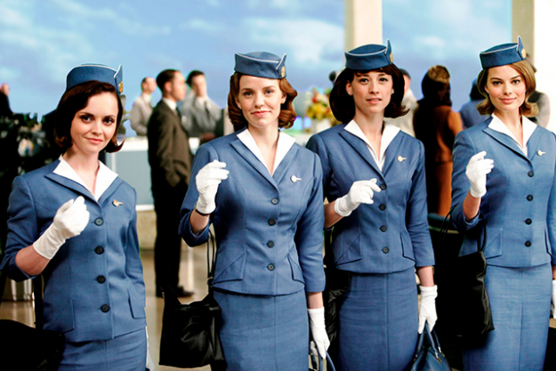 10. Margot was roommates with Christina Ricci while they filmed TV series 'Pan Am'.