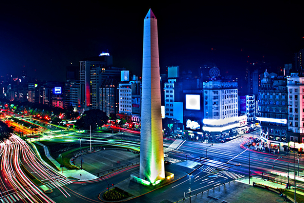 1. Obelisco de Buenos Aires, Argentina. Phallic jokes aside, Buenos Aires is said to be an incredibly vibrant South American city. No wonder it inspires visitors looking for amor.
