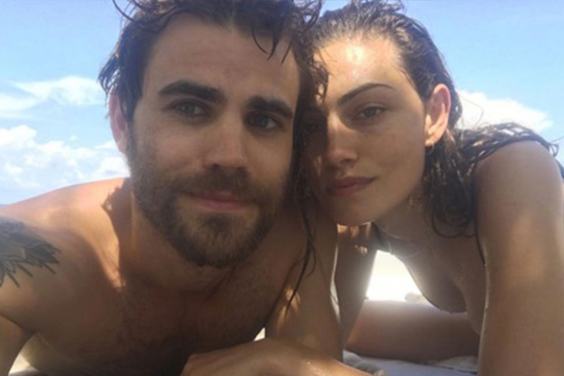 Paul Wesley and Phoebe Tonkin: After dating on-again and off-again for four years, the couple officially ended things in October.