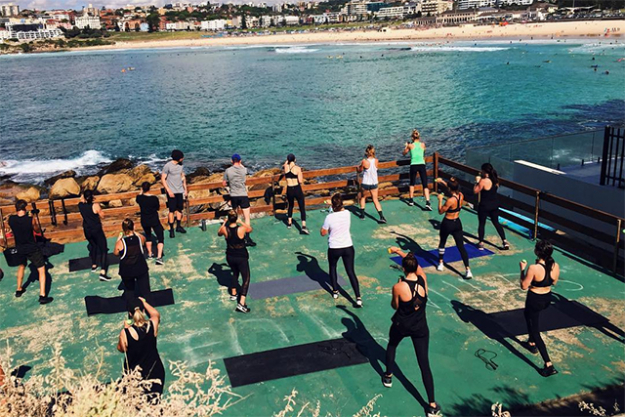 12. Boxing at Transpose Fitness (Bondi Beach).