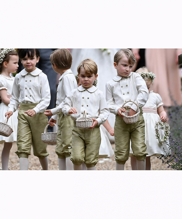 Prince George at aunt, Pippa Middleton's wedding