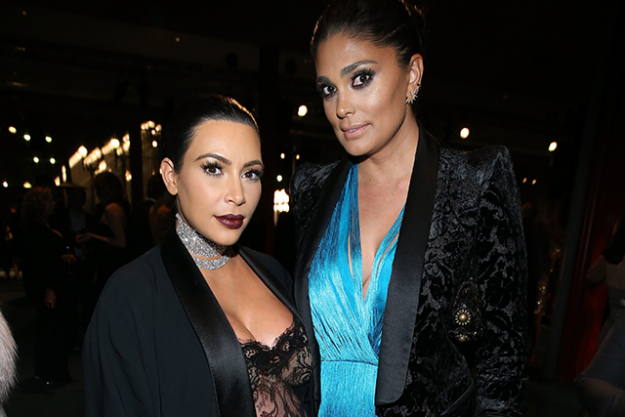 It also turns out that Rachel Roy is close friends with Kim Kardashian, who is married to Jay Z's current BFF Kanye West, What a tight knit circle they run in!