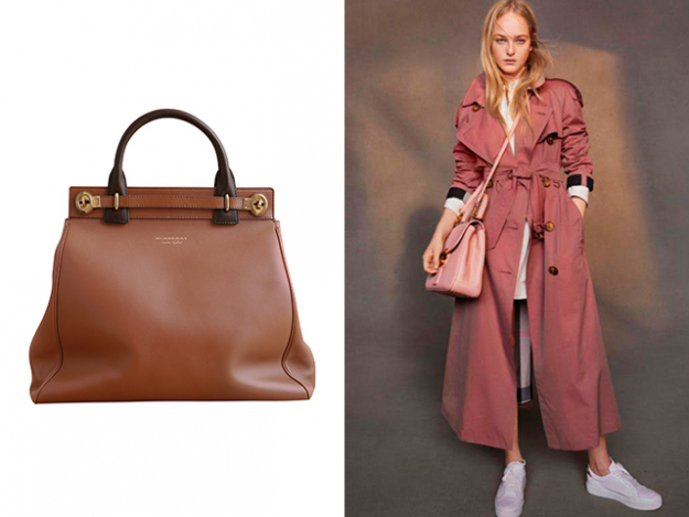 The DK88 Luggage Bag and Tropical Gabardine Trench Coat