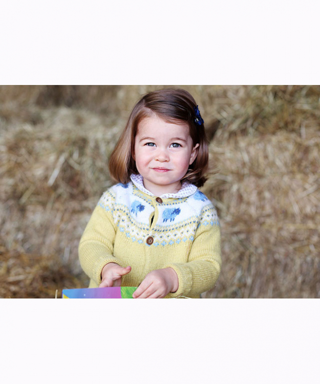 Princess Charlotte official 2nd birthday portrait