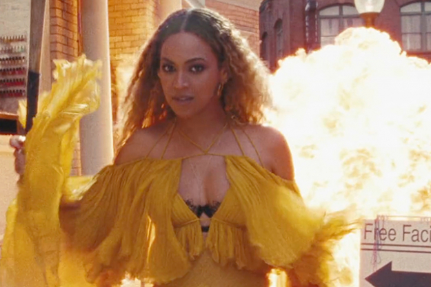 Filled with anger and explosive lyrics supposedly aimed at the men in her life who have let her down, including adulterous father and former manager Matthew Knowles and husband Jay Z, 'Lemonade' is hailed as insanely personal tour de force.