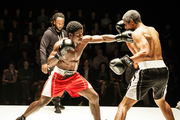 "Prize Fighter: Get ringside for this high octane performance: engrossing storytelling paired with the visceral thrill of live boxing. Fleeing the Congo as a child, playwright Future D. Fidel lived in a Tanzanian refugee camp for eight years before being granted refugee status in Australia. Prize Fighter is inspired by his own story and those of the people he has known.<p><a href=""http://www.sydneyfestival.org.au/2017/prize-fighter"">sydneyfestival.org.au/2017/prize-fighter</a>&nbsp;</p>"