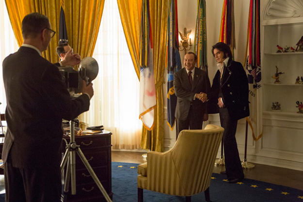 'Elvis & Nixon' As the trailer will tell you in the first three seconds, out of every photo in the American National Archive –and that includes photos of the presidents, the moon landing, the constitution, historic moments and some of the most famously recognisable images on the planet – the most requested one of all time is a photo of Elvis Presley shaking hands with Richard Nixon. This film is a hilarious, fictional depiction of what could have possibly gone on in the Oval office when the two egos met for the first time. Bizarre and brilliant.
