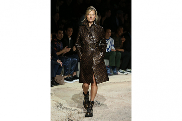 Kate Moss at Louis Vuitton Homme A/W'18