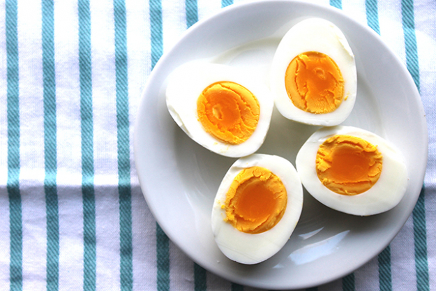 5. Eggs. As well as being easily digestible and gentle on queasy stomachs, eggs are an excellent source of protein, which provide the liver with the amino acids – especially cysteine – needed to mop up the toxins left over from alcohol.