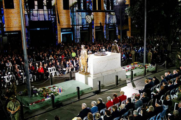 "Anzac Day Dawn Service: We know, 4.15am is pretty early, but it's 100 per cent worth it. The Cenotaph in Martin Place plays host to this very special, moving service. Set your alarm and settle in for a rousing ceremony.<p><a href=""http://www.sydney.com/destinations/sydney/public-holidays/anzac-day"">sydney.com</a>&nbsp;</p>"