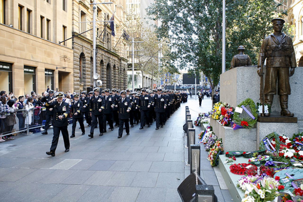"Anzac Day March: If the dawn service is just too early bird, cheer on the war veterans, descendants of our heroes and current Aussie armed service staffers in the Anzac Day March. It kicks off at 9am on the corner of Elizabeth Street and Martin Place. Insider tip: Hyde Park has some prime viewing opps.<p><a href=""http://www.sydney.com/destinations/sydney/public-holidays/anzac-day"">sydney.com</a></p>"