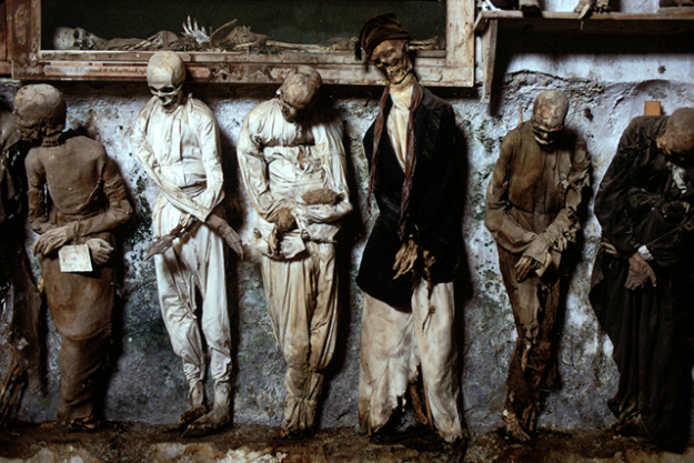 Catacombs of the Capuchins, Italy.