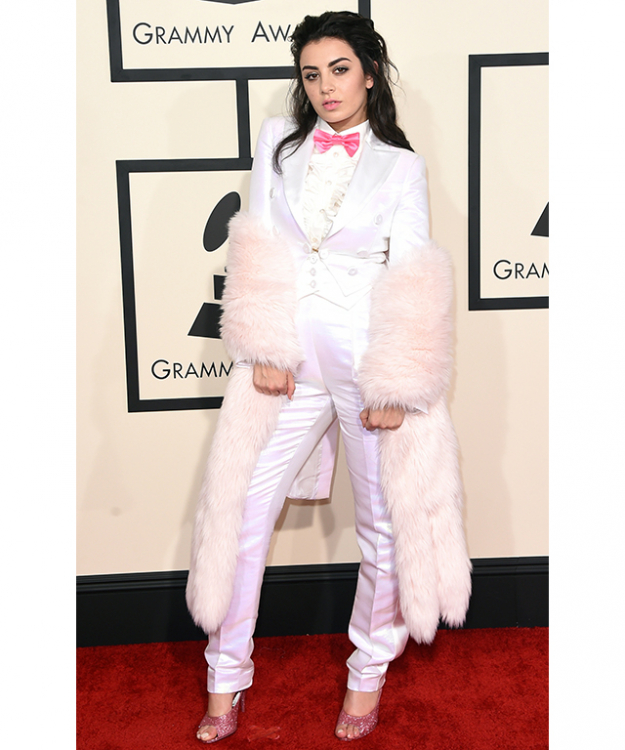 Charli XCX recently suited up in a slightly naughty Easter bunny white suit. For your Halloween take, think Lewis Carroll's White Rabbit gone rogue.