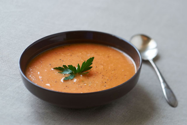 5. Finally, bypass the juice cleanse craze in favour of a gentler, more nutritious soup cleanse. Lighten the digestive and sugar load by choosing vegetable based soups and bone broths. Juice cleanses are traditionally too high in carbohydrate in the form of liver loading fructose, whilst often lacking in healthy fats and protein.