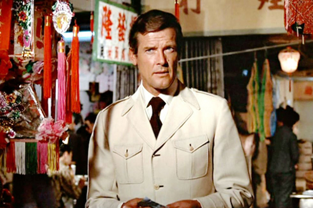 Safari suit chic in 'The Man with the Golden Gun'