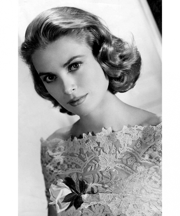 "On Grace Kelly: ""To me, Grace Kelly epitomises style and elegance. Whilst her image as a younger woman in the 1950's was cultivated by the glamorous movie industry, she still exuded the wholesome 'girl next door' qualities. She had an innate sense of style and symbolized classic elegance perfectly."""