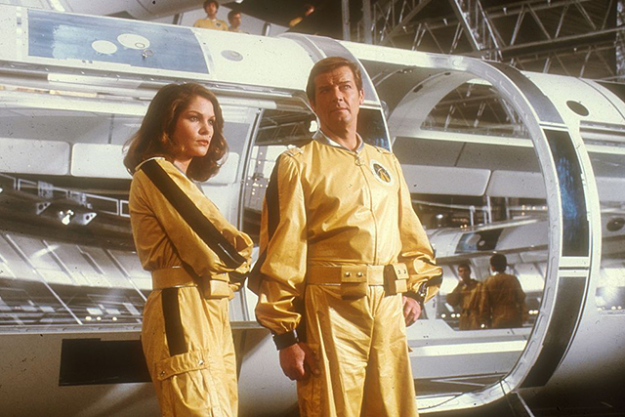Yellow does stand out in space, 'Moonraker'
