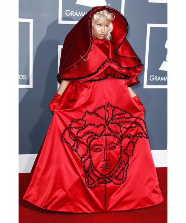 Nicki Minaj's take on Little Red Riding Hood will send any wolf running  very, very fast in the opposite direction.