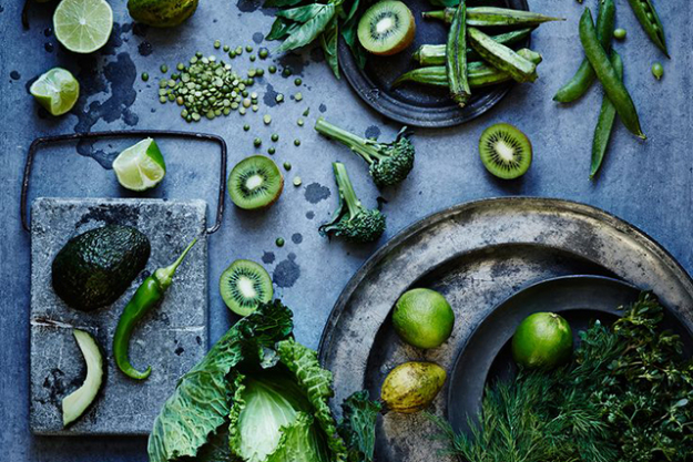 Add quality, nutrient-dense foods to your diet, like spirulina, salmon, acai, chlorella, green juices, kale and berries. Try also to eat as organically as possible.