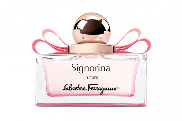 Salvatore Ferragamo Signorina in Fiore: If you're a fan of florals - you're going to be blown away by this fragrance. A bouquet of all the prettiest petals including nashi pear sorbet, pomegranate, cherry blossom, jasmine, white musk and spicy sandalwood. RRP $140 available at Myer and David Jones stores.