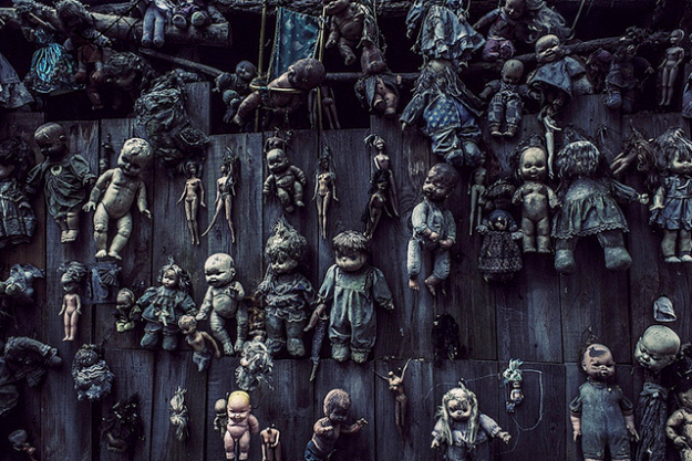 The Island of the Dolls, Mexico.