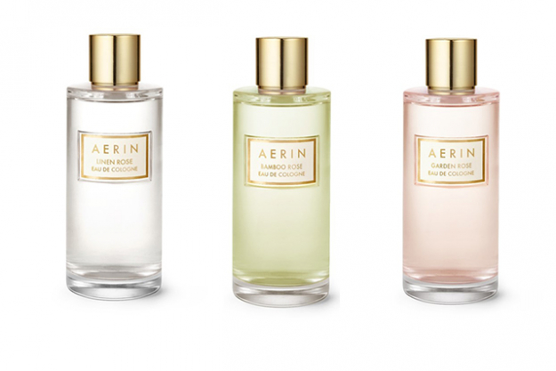 "Aerin Rose Cologne Collection: A true, pure rose fragrance that smells like a country garden is hard to find but Estée Lauder's granddaughter, Aerin Lauder has managed to nail it perfectly with her Rose Cologne Collection. The three rose scents, Bamboo Rose, Linen Rose and Garden Rose are all anchored by White Bulgarian rose with their own unique blends taking them to an Asian garden, the Hamptons and an English country garden respectively. RRP 200ml $250.<p>Available from David Jones, Myer and <a href=""http://www.esteelauder.com.au/"">esteelauder.com.au</a>&nbsp;</p>"
