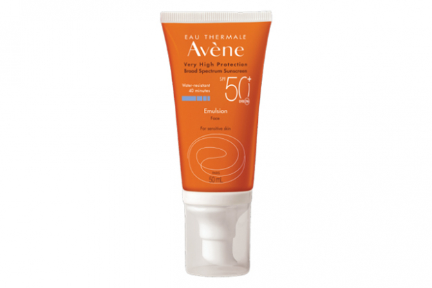 Eau Thermale Avène SPF 50 for sensitive skin: This French skincare brand has just launched their first range of sunscreen suitable for sensitive skin, free of parabens and offering max SPF 50+ protection. RRP from $26.95.